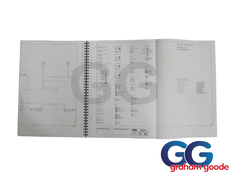 Wiring Circuit Diagrams Escort Cosworth Ggr1788